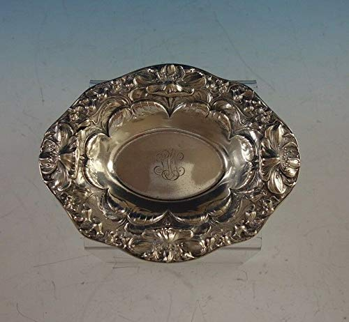 Poppy by Gorham Sterling Silver Nut Dish #A2737#2911 ()