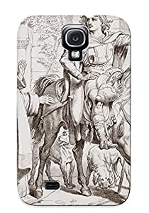 Ideal Exultantor Case Cover For Galaxy S4(hereward Informs His Uncle The Prior That He Is About To Be Outlawed), Protective Stylish Case