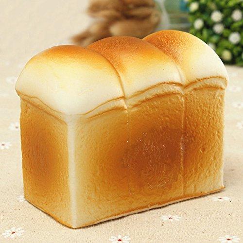 CynKen Toast Kawaii Jumbo Squishy Bread Fun Toys Soft Hand Pillow