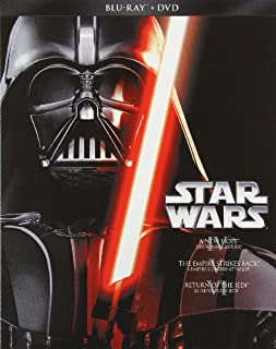 Star Wars: Episodes IV-VI Trilogy [Blu-ray + DVD] (Bilingual) (B00E98G4VS) | Amazon Products