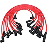 New Dragon Fire High Performance HEI Spark Plug Wire Set For 1987-1995 Chevrolet Chevy Camaro Caprice Pontiac Firebird And More GM 305 350 Engines 12073969 Oem Fit PWJ102