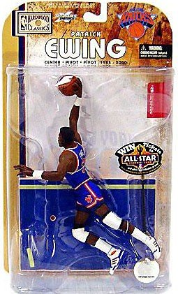 McFarlane NBA Legends 4 Patrick Ewing (Knicks) Blue Chase Variant