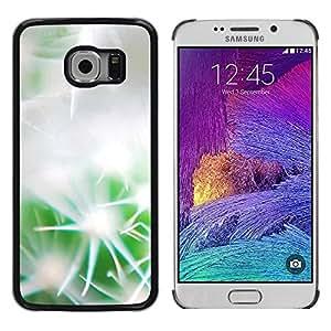 Smartphone Rígido Protección única Imagen Carcasa Funda Tapa Skin Case Para Samsung Galaxy S6 EDGE SM-G925 Gentle cactus / STRONG