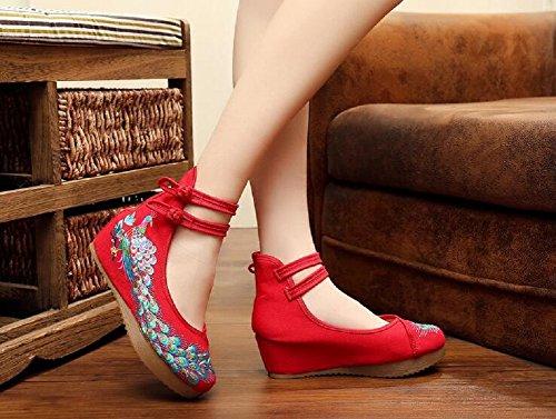 femme Sandales red pour Sandales pour femme red Lazutom pour Lazutom Sandales femme red Lazutom AqpZFS