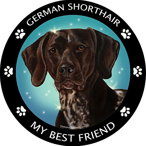 German Pointer My Best Friend Magnet
