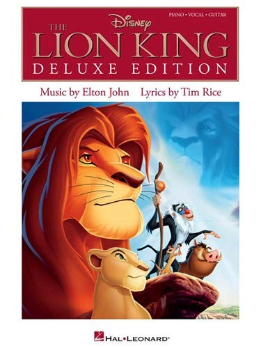 Hal Leonard The Lion King Deluxe Edition for Piano/Vocal/Guitar