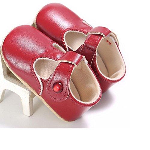 Ecosin Newborn Non slip Comfortable Leather