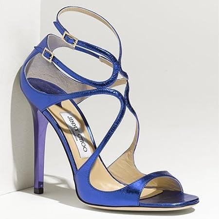 Jimmy Choo Lance Sandal Blue: Amazon.co