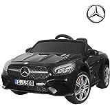 Uenjoy 12V Licensed Mercedes-Benz SL500 Kids Ride On Car Electric Cars Motorized Vehicles for Kids, Remote Control,...