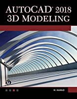 AutoCAD 2018 3D Modeling Front Cover
