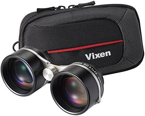 Vixen Optics 19172 2.1 x 42 Super Wide Binocular Black