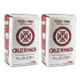Cruz De Malta 1/2 Kilo Yerba Mate (Pack of 2)
