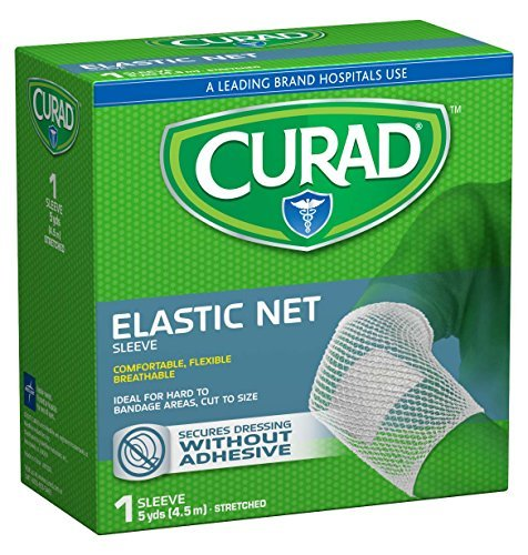 Curad Holdtite Stretched Bandage, Large 5 Yards, (Pack of 6) by Curad