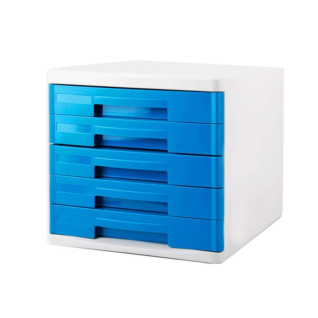 WXH-Datei Halter Dateiablage Desktop-Dateischrank Datenspeicherbox (Farbe   A) B07HF7XN8K      Hochwertige Produkte