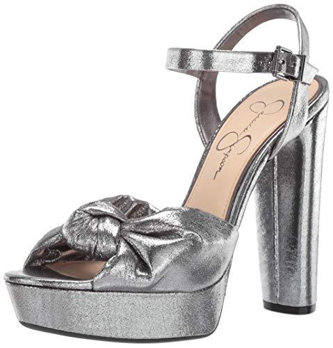 Jessica Simpson Women's IVREY Heeled Sandal, Mineral, 7 M US