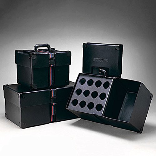 Humes & Berg Enduro Microphone Case for 12 Mics w/Compartment for Chords