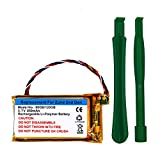 Replacement Battery for Microsoft Zune 80GB/120GB 2nd with Opening Pry Tool Kits-3.7V, 850mAh (Zune 2nd 80G)