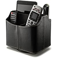 Stock Your Home Remote Control Holder Organizer Uses Include TV Remote Control Organizer Caddy, TV Remote Holder, Remote Control Caddy & Media Storage – Black