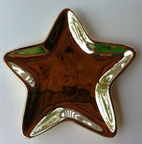 (Studio Nova Christmas Shine Star Candy Dish - Gold)