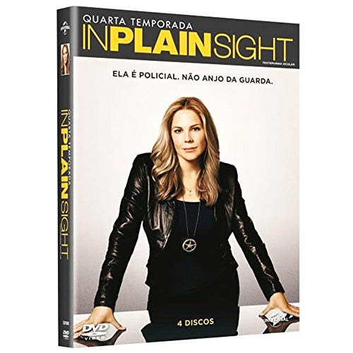 DVD - In Plain Sight Testemunha Ocular - 4° Temporada