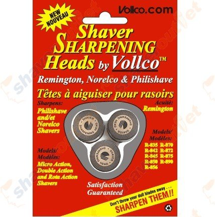 Price comparison product image Vollco Sharpening Heads For Select Norelco and Remington Models