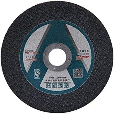XY-YZGF Edelstahl Trennscheibe, Metall-Trennscheibe, Schruppscheibe dünnes Harzschneideblatt, Schleifscheibe Winkelschleifers Blech 105 x 1.2, 50PCS