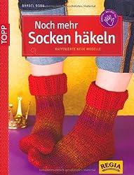 Noch mehr Socken häkeln: Raffinierte neue Modelle
