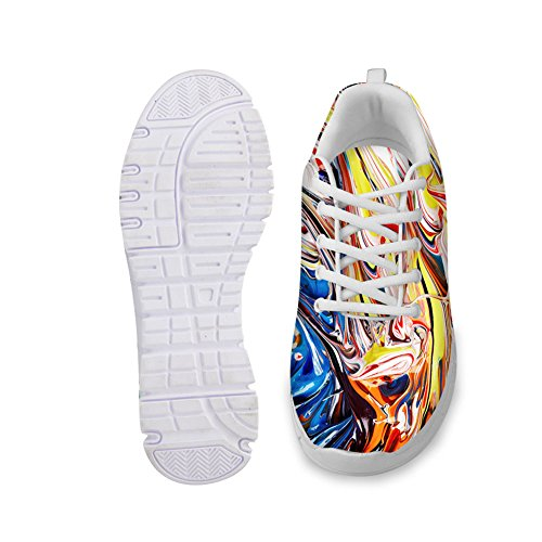 IDEA Fashion HUGS Sneakers Casual Running Design Womens Painting Colorful 6 Lightweight Shoes SHwwTdq