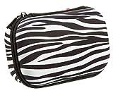 zebra office supplies - ZIPIT Colorz Pencil Case/Pencil Box/Storage Box/Cosmetic Makeup Bag, Zebra