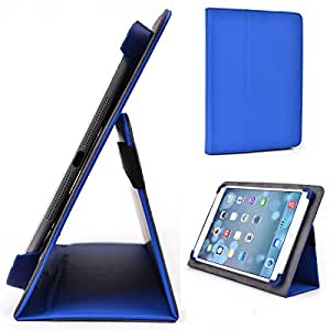 Royal Blue Kroo Icemobile G10 Case // Slim Folio Case with Built-in Stand