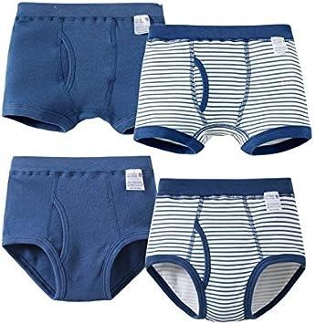 Los niños ropa interior de algodón 4 Piece/niños ropa interior ...