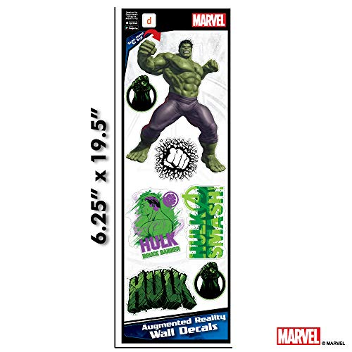 Marvel Avengers Hulk Augmented Reality Small Wall Decal Peel & Stick Removable Vinyl 7 -