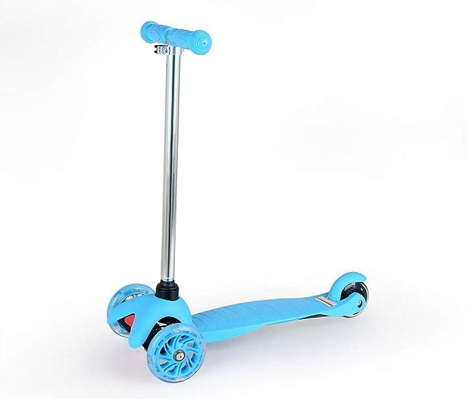 SEESEE.U Mini Scooter 3 en 1 con Asiento y asa extraíbles, Altura ...