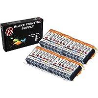 24 Pack with Gray Blake Printing Supply CLI-226 226 PGI-225 225 Ink Cartridges for Canon PIXMA MG6120 PIXMA MG6220 PIXMA MG8120 PIXMA MG8120B PIXMA MG8220