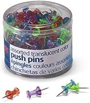 Officemate Pinos, cores translúcidas sortidas, 200 unidades (35710)