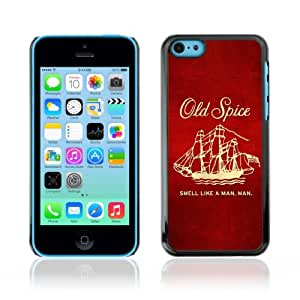 Designer Depo Hard Protection Case for Apple iPhone 5C / Old Spice