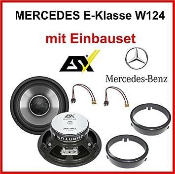 Heck Lautsprecher Set Esx Qe120 Für Mercedes E Klasse Elektronik