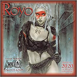 The Fantasy Art Of Royo 2020 Calendar