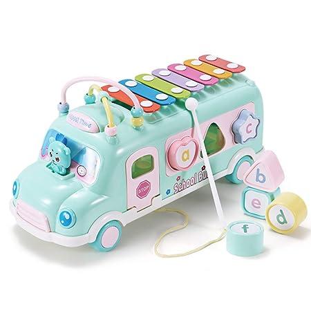 Juguetes Bebe De 8 Meses.Yre Musica De Los Ninos Autobus Mano Arpa 8 Meses Juguetes