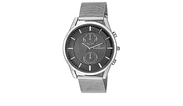 Amazon.com: RADIANT Watch New Northtime Large RA407701 Mens Black: Watches