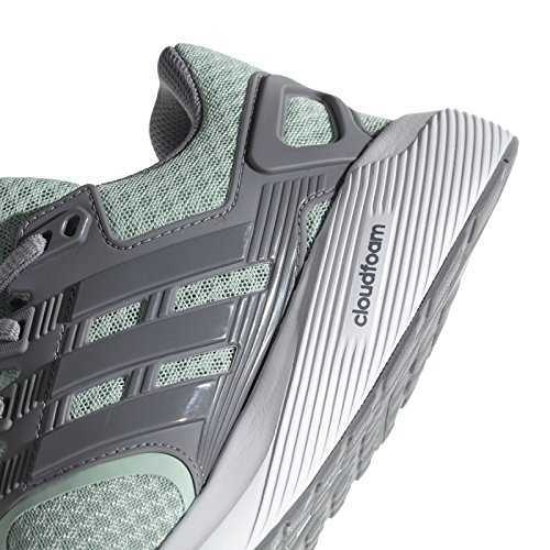 Scarpe Adidas Da Donna Duramo 8 W, Nere, 44 Eu Verde (verde Cenere S18 / Grigio Tre F17 / Grigio Tre F17)