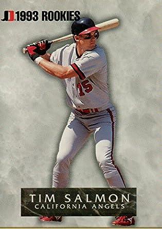 Tim Salmon Rookie Baseball Card 1993 Jimmy Dean Baseball