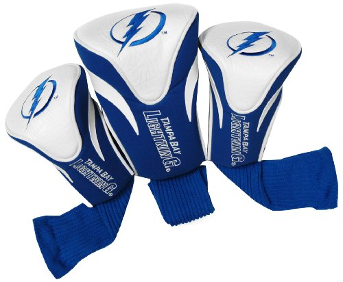 - Team Golf NHL Tampa Bay Lightning Contour Golf Club Headcovers (3 Count), Numbered 1, 3, & X, Fits Oversized Drivers, Utility, Rescue & Fairway Clubs, Velour lined for Extra Club Protection