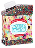 Water Beads, Pack (50000 beads) Rainbow Mix Jelly Water Growing Balls for Kids Tactile Sensory Toys, Plants, Vases, Wedding and Home Decoration
