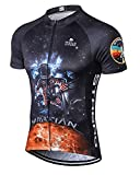 MR Strgao Men's Cycling Jersey Bike Short Sleeve Shirt Size 2XL