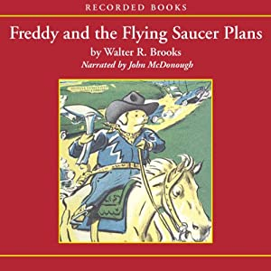 Freddy and the Flying Saucer Plans Audiobook
