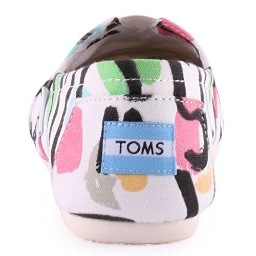 Toms Classic Women US 5 Multi Color Sneakers YQqnBNl