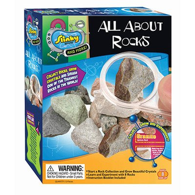 Poof Slinky All About Rocks Mini Lab