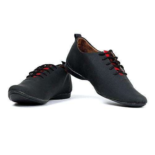 Buy voonik Men's Black Casual Shoe-8 at