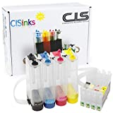 CISinks® EMPTY Continuous Ink Supply System CISS for Epson C68 C88 C88+ CX3800 CX3810 CX4200 CX4800 CX5800 CX5800F CX7800 T060 - for Pigment or Sublimation Ink
